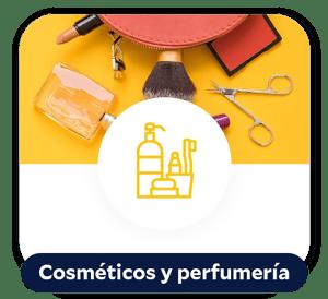 Cosméticos y perfumería